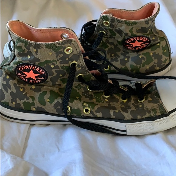 Converse Shoes | Camouflage Sneakers